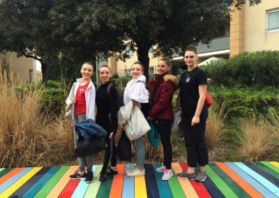 L'ensemble Nationale -17ans(Valentine,Meline,Ainhoa,Eva et Emma)