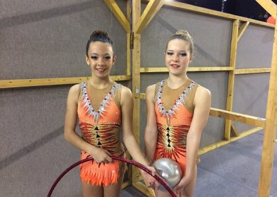 DUO Nationales -13ans(Gaelle et lucylle)